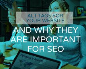 importance of ALT tags